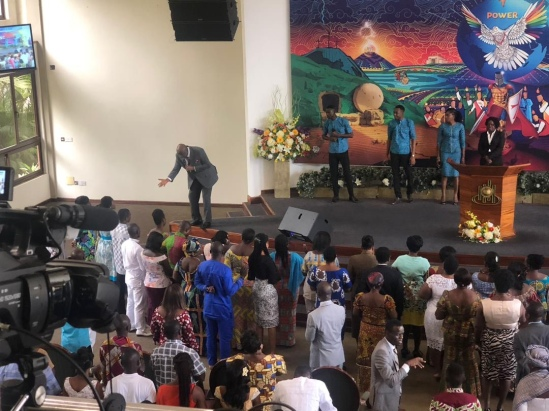 MINISTERING AT GREATER GLORY CONFERENCE AT HOSANA TEMPLE TESHIE – ICGC, GHANA