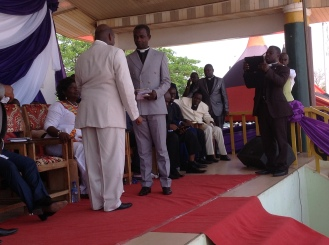 INDUCTION OF NEW BPMI CHAIRMAN, SUNYANI