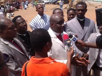 PRESS INTERVIEWS, SUNYANI